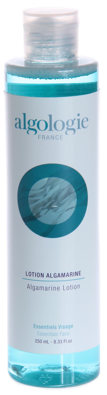 ALGOLOGIE Лосьон алгомариновый 250млЛосьоны<br>Лосьон лимонного цвета с нежным запахом и нейтральным уровнем рН для сухой и обезвоженной кожи. Действие: очень мягко очищает и тонизирует кожу, восстанавливает минеральный баланс, возвращает коже упругость, значительно повышает ее проницаемость для активных компонентов. Активные ингредиенты: морская вода, полисахариды. Домашнее применение: утром и вечером наносите Лосьон альгамариновый на очищенную кожу лица и шеи с помощью ватных дисков.<br><br>Объем: 250<br>Вид средства для лица: Морской