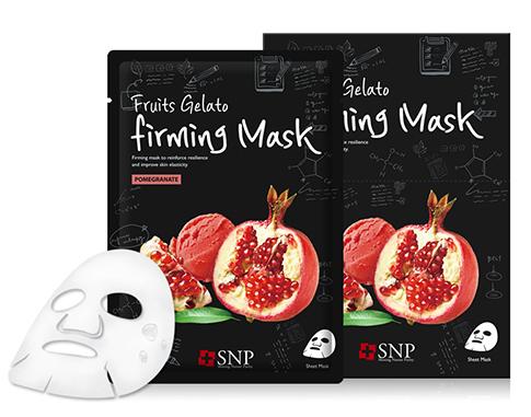 SNP Маска для лица / Fruits Gelato Firming Mask 25 мл ponybrown plus ponybrown plus маска для лица уход и эластичность 25 мл