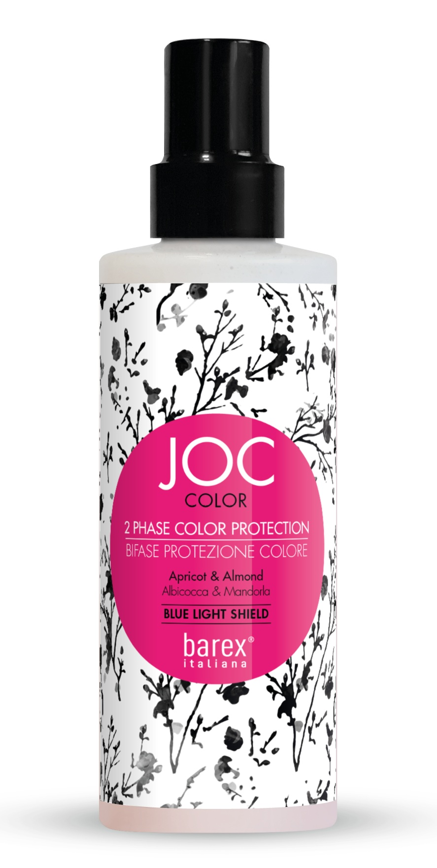 Купить BAREX Спрей-кондиционер двухфазный для волос Стойкость цвета, абрикос и миндаль / JOC COLOR 200 мл