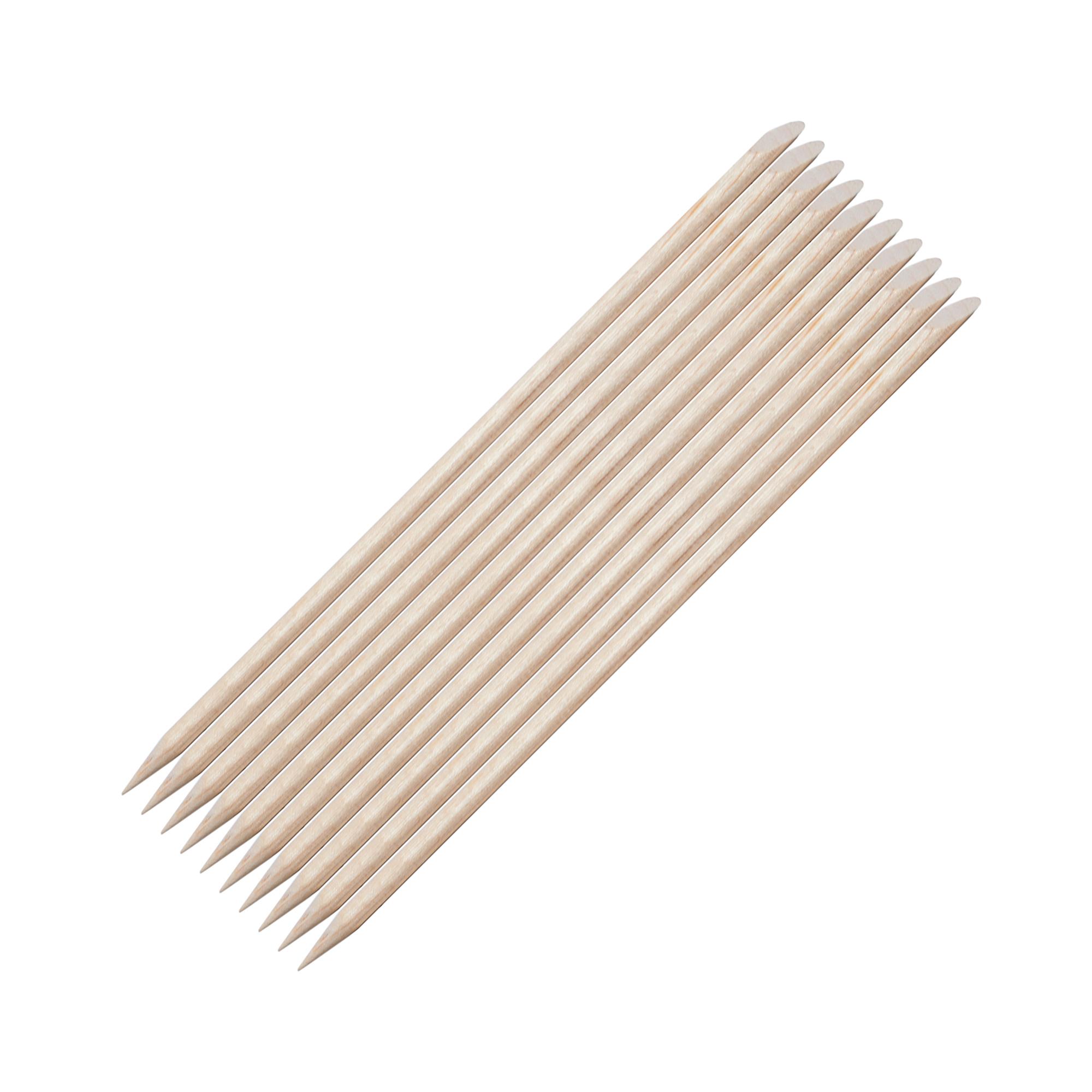 BERENICE Палочка апельсиновая 13 см (набор 10 шт) / BERENICEМаникюр-инструменты<br>Палочки изготовлены из высококачественного апельсинового дерева, которое обладает антисептическими свойствами. Апельсиновые палочки BERENICE имеют удлинённую форму, которая очень удобна для работы. Это идеальный инструмент для обработки кутикулы. С помощью апельсиновой палочки также можно очистить внутреннюю поверхность ногтевой пластины и нанести на ноготь мелкие элементы для дизайна (наклейки, стразы и др.) Рекомендуется для домашнего и профессионального использования. В комплект входит 10 палочек.<br>