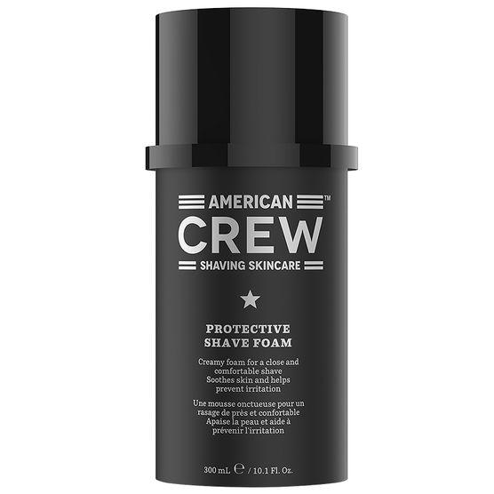 AMERICAN CREW Пена защитная для бритья, для мужчин / Protective Shave Foam CREW SHAVING SKINCARE 300 мл