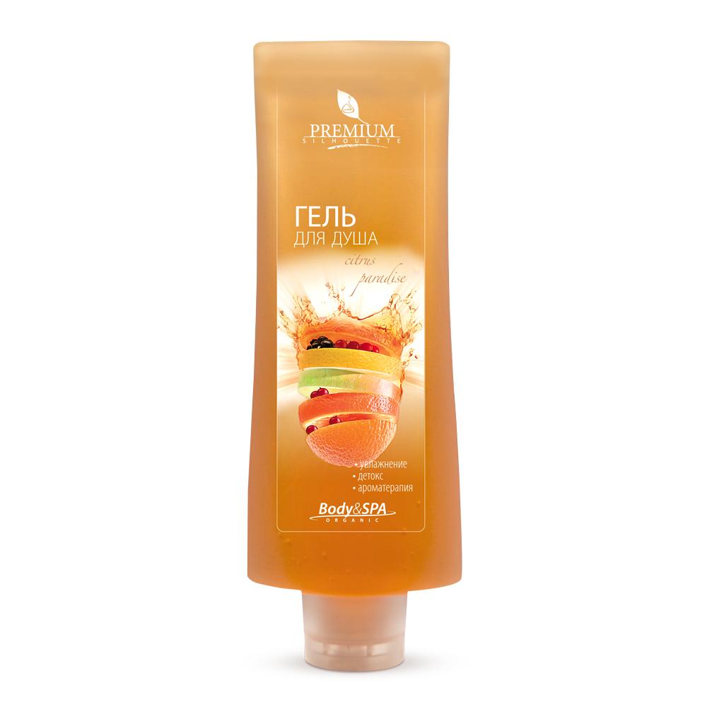 PREMIUM Гель для душа Citrus paradise / Silhouette 200мл