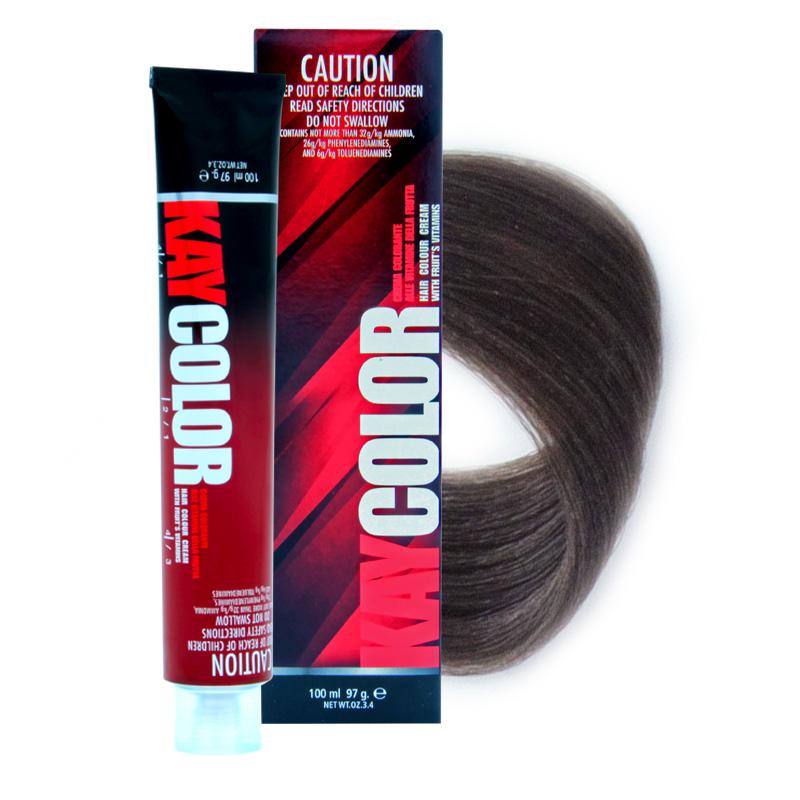 KAYPRO 6.18 краска для волос, холодный шоколадный темно-каштановый / KAY COLOR 100 мл фото