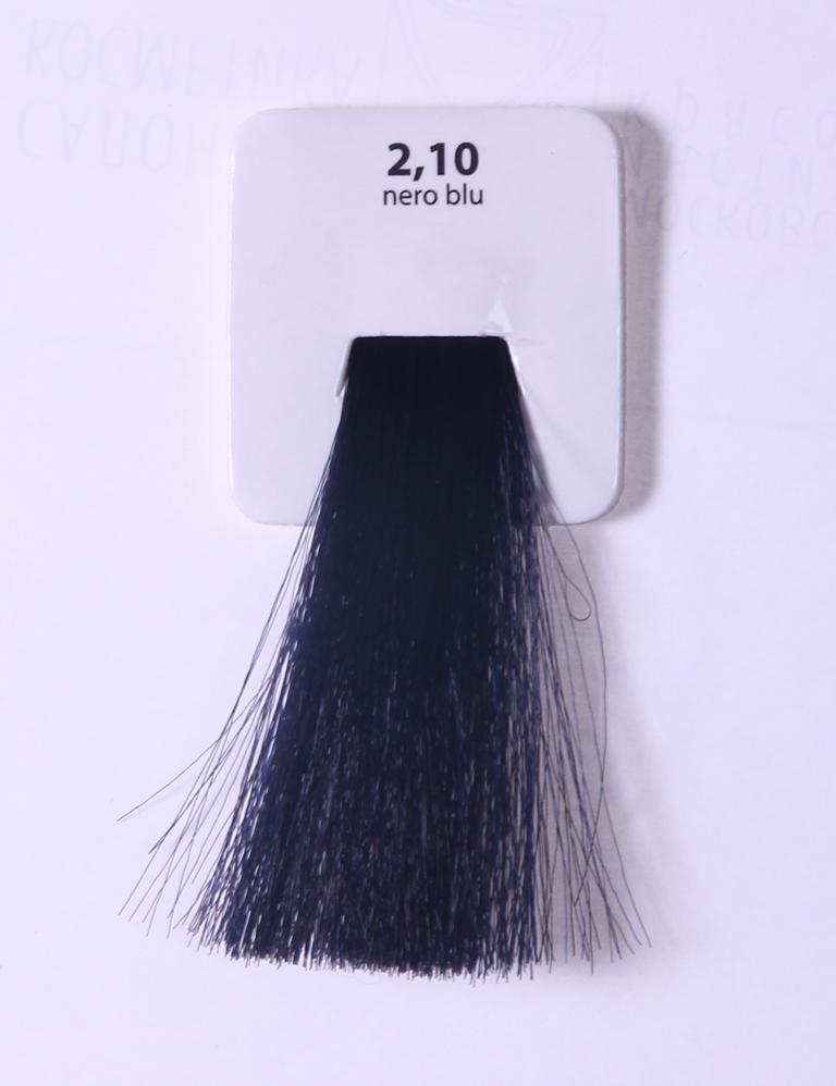 KAARAL 2.10 краска для волос / Sense COLOURS 60млКраски<br>2.10 черно-синий Перманентные красители. Классический перманентный краситель бизнес класса. Обладает высокой покрывающей способностью. Содержит алоэ вера, оказывающее мощное увлажняющее действие, кокосовое масло для дополнительной защиты волос и кожи головы от агрессивного воздействия химических агентов красителя и провитамин В5 для поддержания внутренней структуры волоса. При соблюдении правильной технологии окрашивания гарантировано 100% окрашивание седых волос. Палитра включает 93 классических оттенка. Способ применения: Приготовление: смешивается с окислителем OXI Plus 6, 10, 20, 30 или 40 Vol в пропорции 1:1 (60 г красителя + 60 г окислителя). Суперосветляющие оттенки смешиваются с окислителями OXI Plus 40 Vol в пропорции 1:2. Для тонирования волос краситель используется с окислителем OXI Plus 6Vol в различных пропорциях в зависимости от желаемого результата. Нанесение: провести тест на чувствительность. Для предотвращения окрашивания кожи при работе с темными оттенками перед нанесением красителя обработать краевую линию роста волос защитным кремом Вaco. ПЕРВИЧНОЕ ОКРАШИВАНИЕ Нанести краситель сначала по длине волос и на кончики, отступив 1-2 см от прикорневой части волос, затем нанести состав на прикорневую часть. ВТОРИЧНОЕ ОКРАШИВАНИЕ Нанести состав сначала на прикорневую часть волос. Затем для обновления цвета ранее окрашенных волос нанести безаммиачный краситель Easy Soft. Время выдержки: 35 минут. Корректоры Sense. Используются для коррекции цвета, усиления яркости оттенков, создания новых цветовых нюансов, а также для нейтрализации нежелательных оттенков по законам хроматического круга. Содержат аммиак и могут использоваться самостоятельно. Оттенки: T-AG - серебристо-серый, T-M - фиолетовый, T-B - синий, T-RO - красный, T-D - золотистый, 0.00 - нейтральный. Способ применения: для усиления или коррекции цвета волос от 2 до 6 уровней цвета корректоры добавляются в краситель по Правилу пятнадцати: от