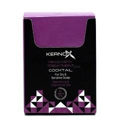 EGOMANIA Коктейль для сухой - чувствительной кожи головы / KERNOX 2,5Особые средства<br>Коктейль для сухой-чувствительной кожи головы предназначен для интенсивного ухода за чувствительной кожей&amp;nbsp;головы, подверженной раздражению химическими препаратами (краситель, перманентная завивка и т.д). Используется для снятия симптомов, таких как: покраснение, зуд, шелушение, жжение, сухость кожи. Входящие в состав кунжутное сезамовое масло оказывает антиоксидантное, противовоспалительное, себорегулирующее, поросуживающее действие. Масло персеи американской является источником олеиновой, линолевой, пальмитиновой, стеариновой, пальмитолеиновой, линоленовой кислоты, витамина А, некоторых из витаминов В, витаминов D и Е, К. Благодаря высокому содержанию полиненасыщенных жирных кислот масло хорошо восстанавливает структуру эпидермиса и волос, обеспечивает высокие питательные, регенеративные и антиоксидантные свойства, улучшает влагоудерживающие свойства кожи. Активные ингредиенты: масло персеи американской является источником олеиновой, линолевой, пальмитиновой, стеариновой, пальмитолеиновой, линоленовой кислоты, витамина А, некоторых из витаминов В, витаминов D и Е, К. Способ применения: коктейль для сухой и чувствительной кожи смешивается с маской, любой из процедур в количестве от 5 г до 15 г на 50 г маски. Коктейль выбранной процедуры используется так же в расчетном количестве для усиления действия маски. Маску нанести на кожу и волосы, равномерно распределить по поверхности кожи и волосам. Время выдержки зависит от выбранной процедуры (по регламенту). Тщательно смыть маску с кожи и волос. Только для наружного применения. При возникновении раздражения кожи прекратите использование. Избегайте попадания в глаза.<br><br>Вид средства для волос: Несмываемый<br>Типы волос: Для всех типов