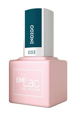Купить E.MI 033 гель-лак для ногтей, Индиго / E.MiLac 6 мл, Зеленые