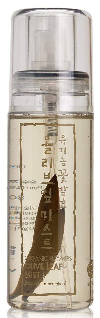 Купить WHAMISA Спрей на основе цветочных ферментов с экстрактом оливковых листьев для лица 80 мл