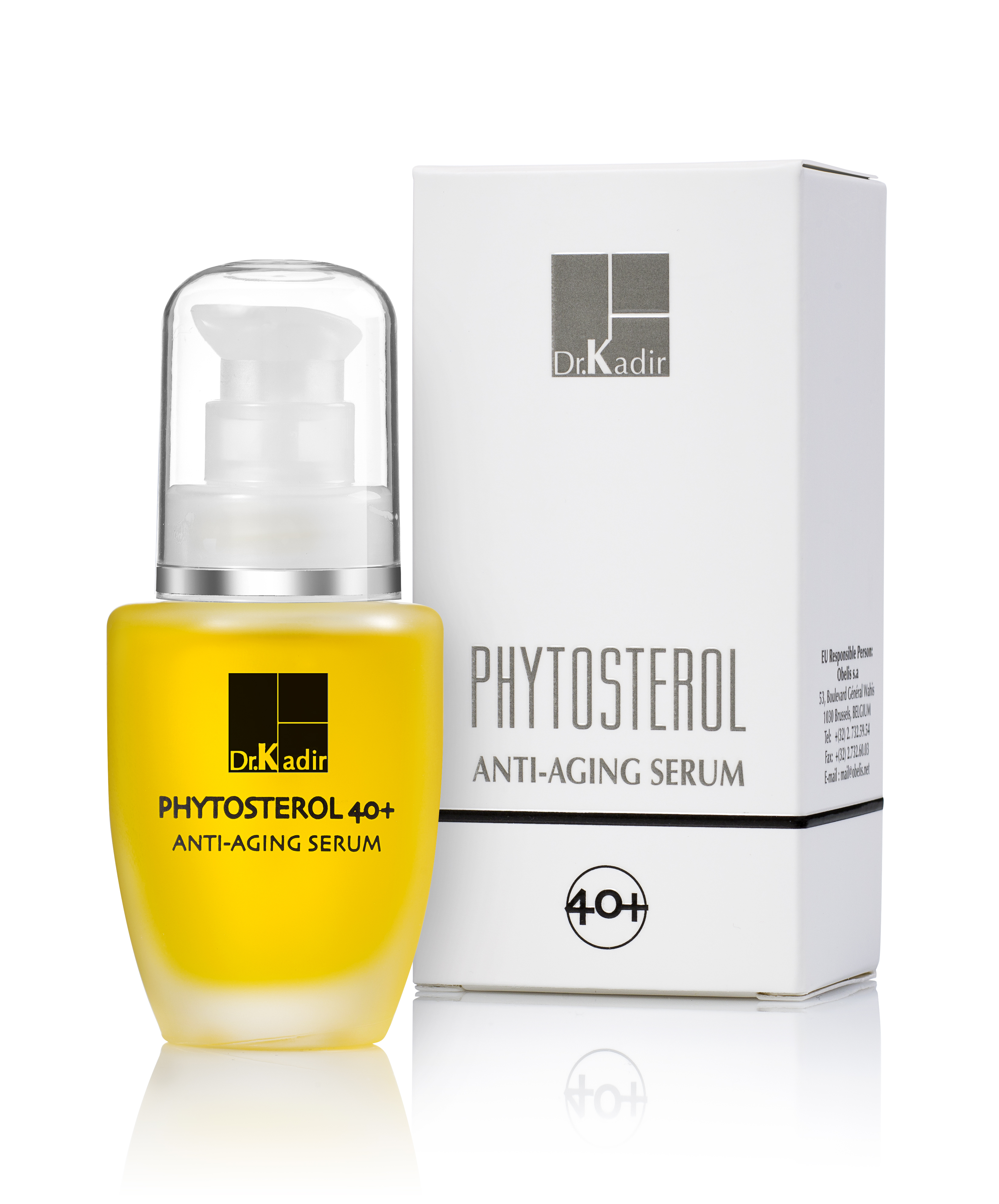 DR KADIR Сыворотка регенерирующая для сухой кожи / Phytosterol 40+ home care 30мл