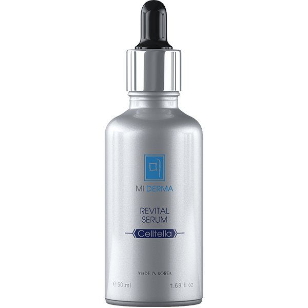 NOLLAM LAB Сыворотка восстанавливающая для лица / Mi Derma Celltella Revital Serum, 50 мл -  Сыворотки