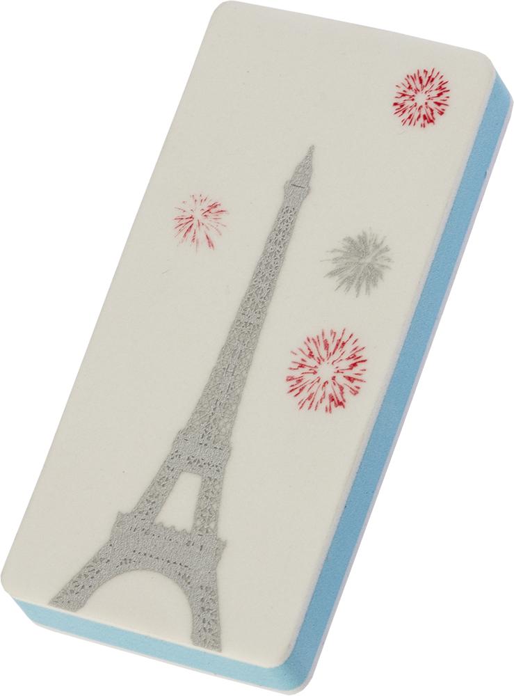 Dewal beauty брусок полировочный мягкий 2 в 1, париж 240/3000 грит