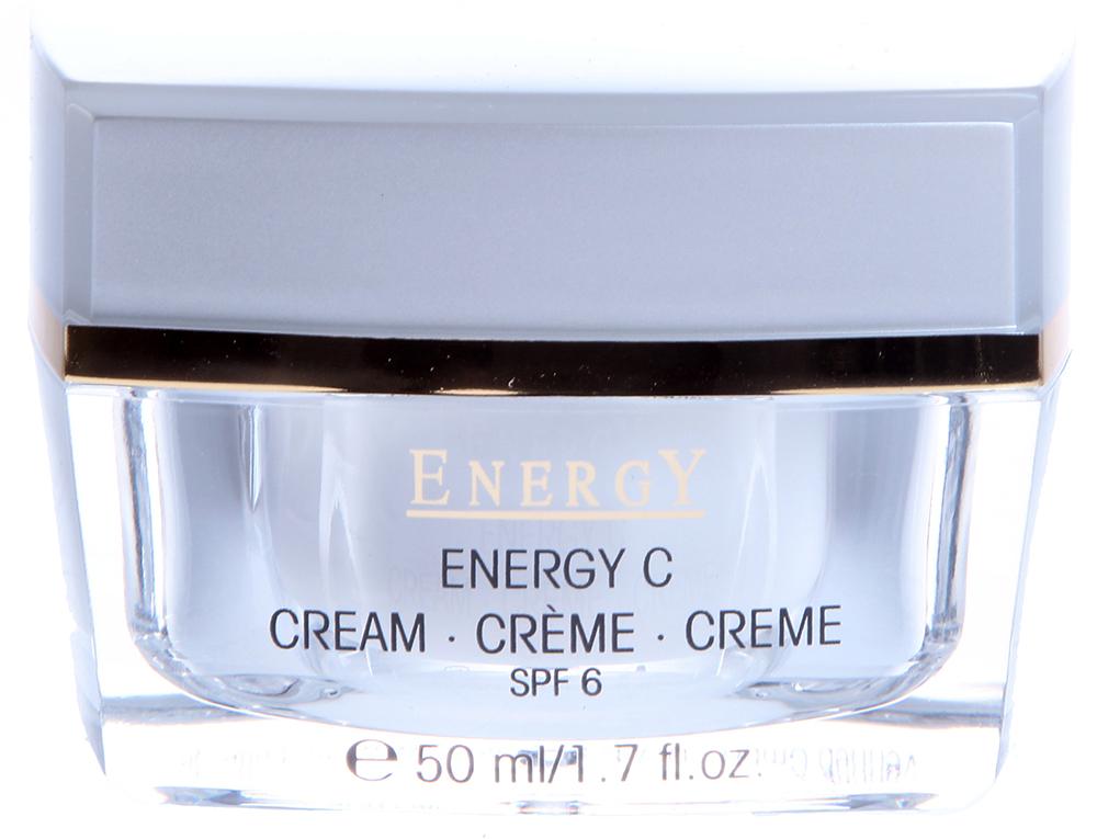 ETRE BELLE Крем Энергия витамина С / Energy C Cream 50млКремы<br>Этот энергетический крем с витамином С является интенсивным 24-часовым уходом за кожей, требующей регенерации. Витамин С активизирует коллагеновый синтез, стимулирует иммунитет и замедляет процесс старения кожи. Защищает от вредного воздействия свободных радикалов. Витамин С водорастворимый, поэтому в данном креме содержится внутри капсулы, предохраняющие его от окисления, активируется сразу в момент нанесения на кожу. SPF 6 &amp;ndash; 6-я степень защиты от ультрафиолетовых лучей. Показание: все типы кожи, требующие регенерации, для нормальной, склонной к сухости или обезвоженной кожи Активные вещества: витамин С, витамин Е, экстракт лимона, NMF &amp;ndash; природный фактор увлажнения Способ применения: Крем рекомендуется использовать утром и вечером. Наносить крем на кожу необходимо легкими массирующими движениями. В летний период особенно эффективен для защиты от ультрафиолетовых лучей.<br><br>Время применения: Летний
