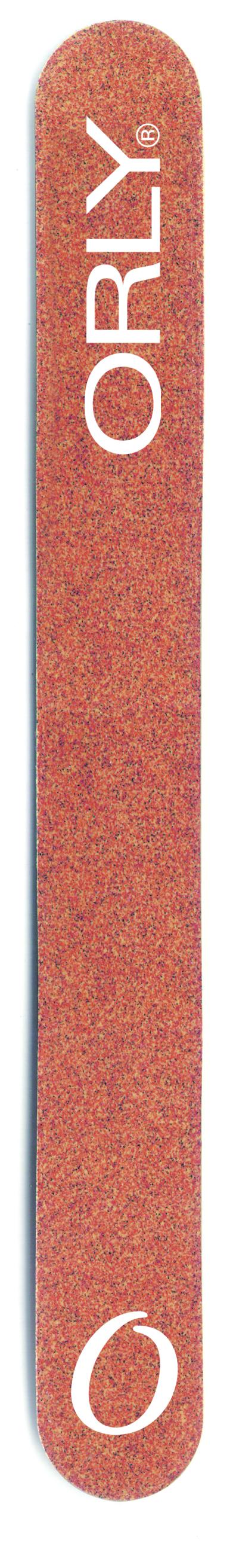 ORLY Гранатовая пилка с абразивом 120 ед. / Garnet Board.Пилки для ногтей<br>Гранатовая пилка от ORLY предназначена для обработки искусственных ногтей. Абразивность гранатовой пилки от ORLY   120 ед. Способ применения: 1. Подбирайте пилку по типу ногтей: чем абразивность выше, тем пилка мягче, а значит меньше вероятность повредить ногти. 2. Для натуральных ногтей выбирайте пилку абразивом выше 180ед. 3. Старайтесь, чтобы движения пилки были в одном направлении от края к центру ногтя.<br>