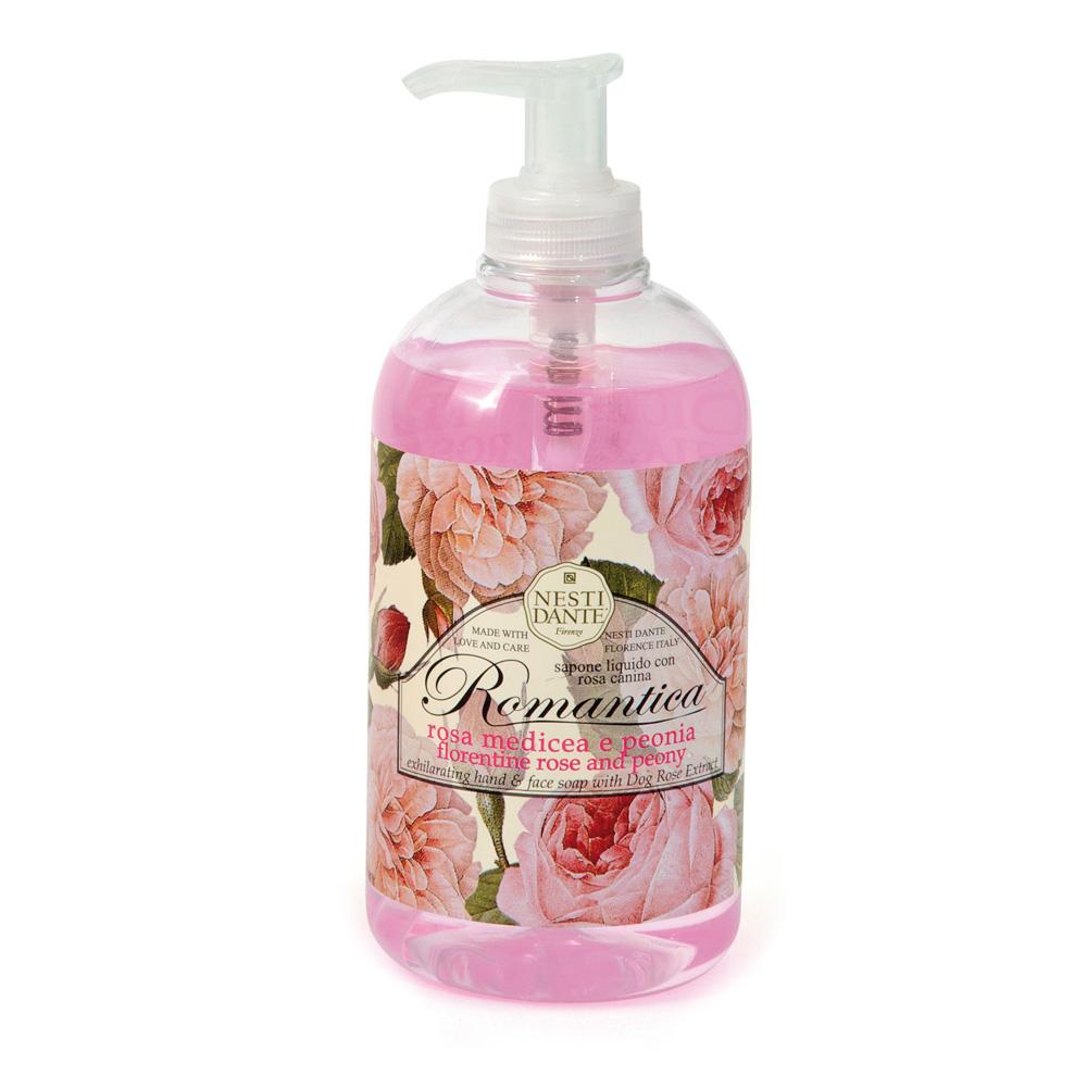 NESTI DANTE Мыло жидкое Флорентийская роза и пион / Florentine Rose & Peony 500 мл