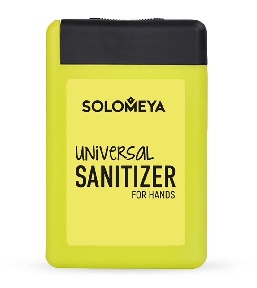 SOLOMEYA Средство антибактериальное универсальное для рук, лимон