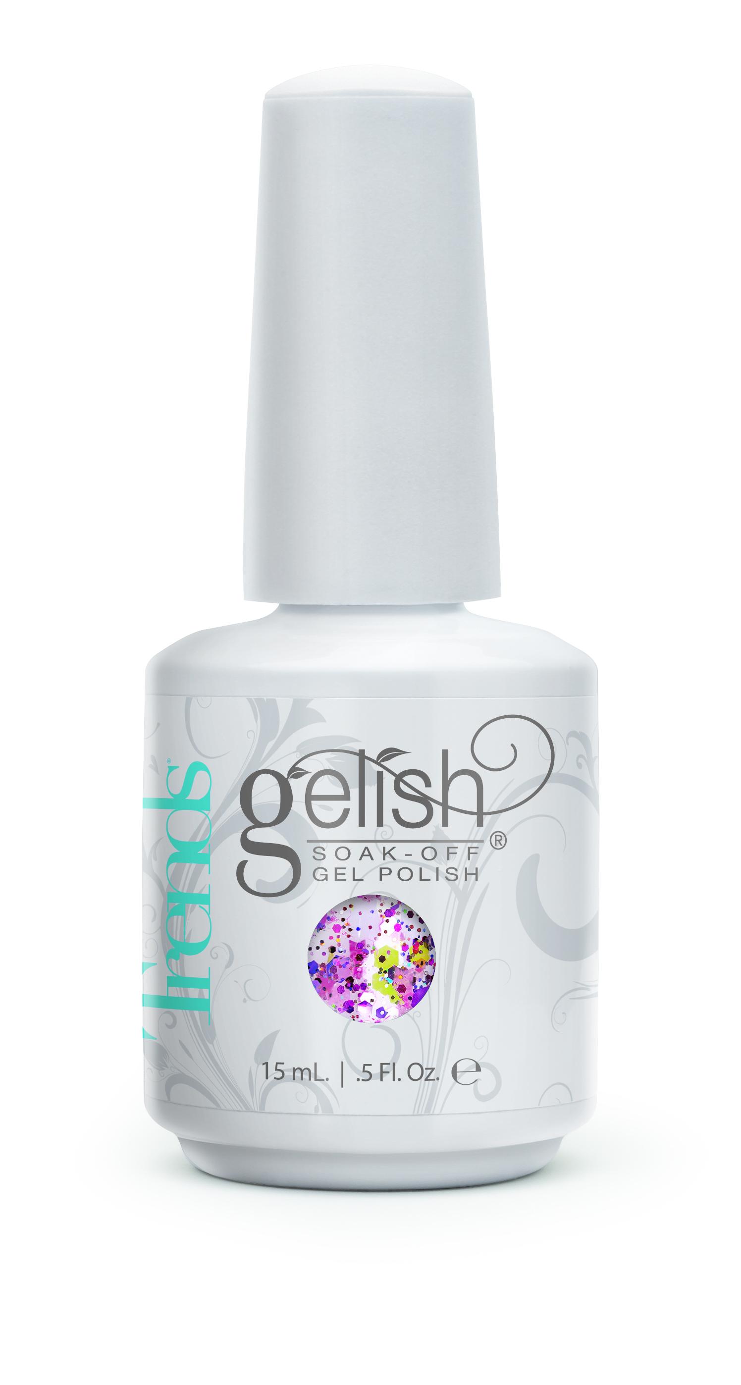 GELISH Гель-лак Shattered Beauty / GELISH 15млГель-лаки<br>Гель-лак Gelish наносится на ноготь как лак, с помощью кисточки под колпачком. Процедура нанесения схожа с&amp;nbsp;нанесением обычного цветного покрытия. Все гель-лаки Harmony Gelish выполняют функцию еще и укрепляющего геля, делая ногти более прочными и длинными. Ногти клиента находятся под защитой гель-лака, они не ломаются и не расслаиваются. Гель-лаки Gelish после сушки в LED или УФ лампах держатся на натуральных ногтях рук до 3 недель, а на ногтях ног до 5 недель. Способ применения: Подготовительный этап. Для начала нужно сделать маникюр. В зависимости от ваших предпочтений это может быть европейский, классический обрезной, СПА или аппаратный маникюр. Главное, сдвинуть кутикулу с ногтевого ложа и удалить ороговевшие участки кожи вокруг ногтей. Особенностью этой системы является то, что перед нанесением базового слоя необходимо обработать ноготь шлифовочным бафом Harmony Buffer 100/180 грит, для того, чтобы снять глянец. Это поможет улучшить сцепку покрытия с ногтем. Пыль, которая осталась после опила, излишки жира и влаги удаляются с помощью обезжиривателя Бондер / GELISH pH Bond 15&amp;nbsp;мл или любого другого дегитратора. Нанесение искусственного покрытия Harmony.&amp;nbsp; После того, как подготовительные процедуры завершены, можно приступать непосредственно к нанесению искусственного покрытия Harmony Gelish. Как и все гелевые лаки, продукцию этого бренда необходимо полимеризовать в лампе. Гель-лаки Gelish сохнут (полимеризуются) под LED или УФ лампой. Время полимеризации: В LED лампе 18G/6G = 30 секунд В LED лампе Gelish Mini Pro = 45 секунд В УФ лампах 36 Вт = 120 секунд В УФ лампе Harmony Mini Portable UV Light = 180 секунд ПРИМЕЧАНИЕ: подвергать полимеризации необходимо каждый слой гель-лакового покрытия! 1)Первым наносится тонкий слой базового покрытия Gelish Foundation Soak Off Base Gel 15 мл. 2)Следующий шаг   нанесение цветного гель-лака Harmony Gelish.&amp;nbsp; 3)Заключительный этап Нане
