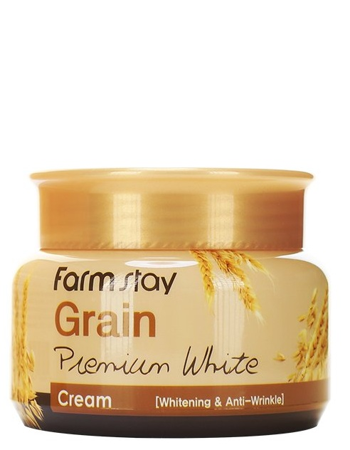 Купить FARMSTAY Крем осветляющий с маслом ростков пшеницы 100 г