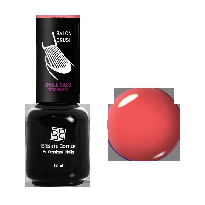 BRIGITTE BOTTIER 938 гель-лак для ногтей & Лосось&  / Shell Nails 12мл -  Гель-лаки