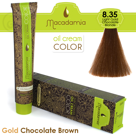 MACADAMIA Natural Oil 8.35 краска для волос / MACADAMIA COLORS 100мл