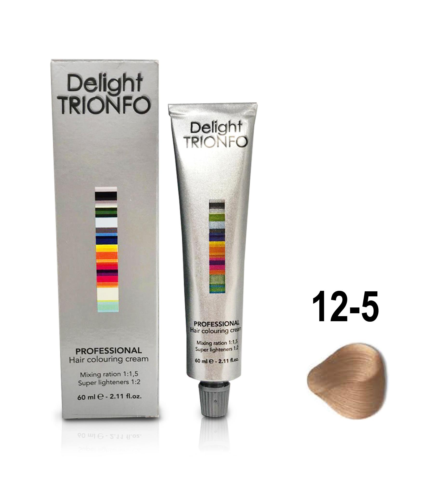 Купить со скидкой CONSTANT DELIGHT ДТ 12-5 крем-краска стойкая для волос, специальный блондин золотистый / Delight TRI