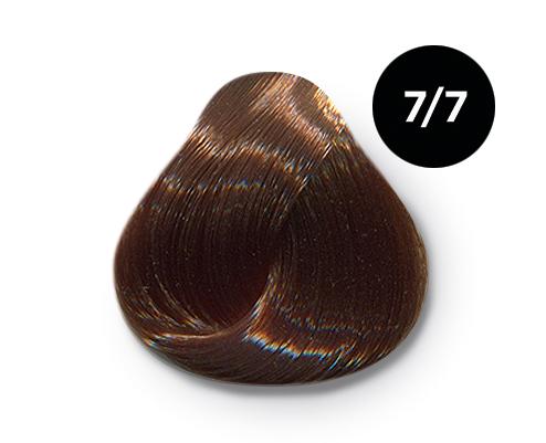 OLLIN PROFESSIONAL 7/7 краска для волос, русый коричневый / OLLIN COLOR 60 мл