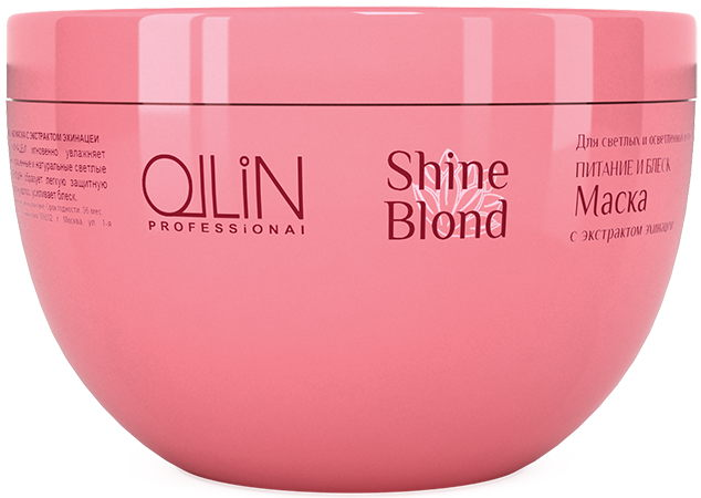 OLLIN PROFESSIONAL Маска с экстрактом эхинацеи / SHINE BLOND 300мл