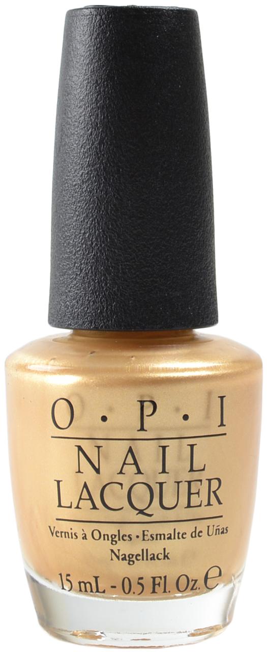 OPI Лак для ногтей Rollin in Cashmere / HOLIDAY 15млЛаки<br>Rollin  in Cashmere - золотой<br><br>Цвет: Желтые<br>Виды лака: Перламутровые