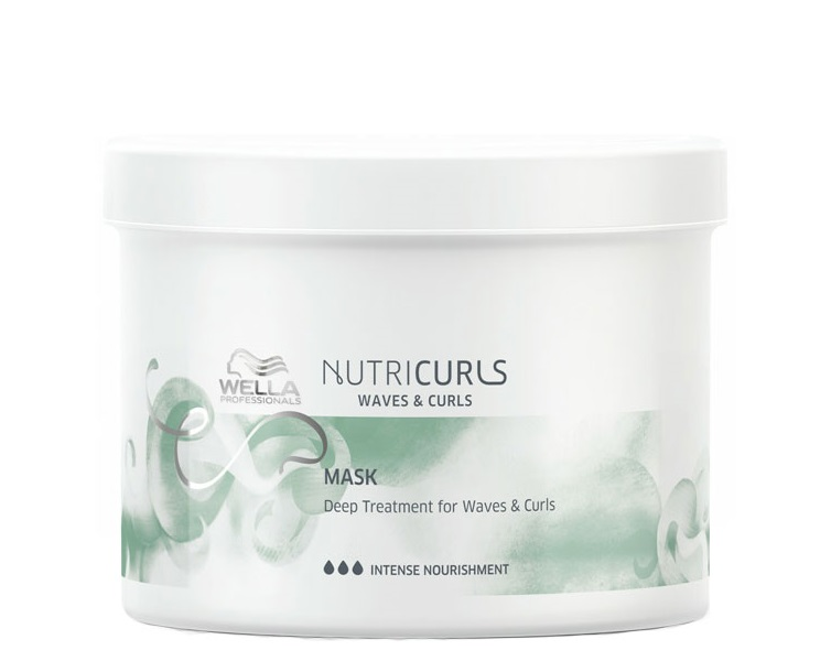Купить WELLA PROFESSIONALS Маска питательная длявьющихся икудрявых волос / Nutricurls 500 мл