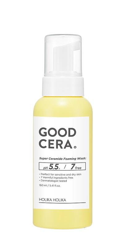 HOLIKA HOLIKA Пенка увлажняющая для лица Гуд Кера / Good Cera Foaming Wash Sensitive, 160 мл -  Пенки