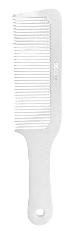 DEWAL PROFESSIONAL Расческа для стрижки под машинку (белая) 22 см