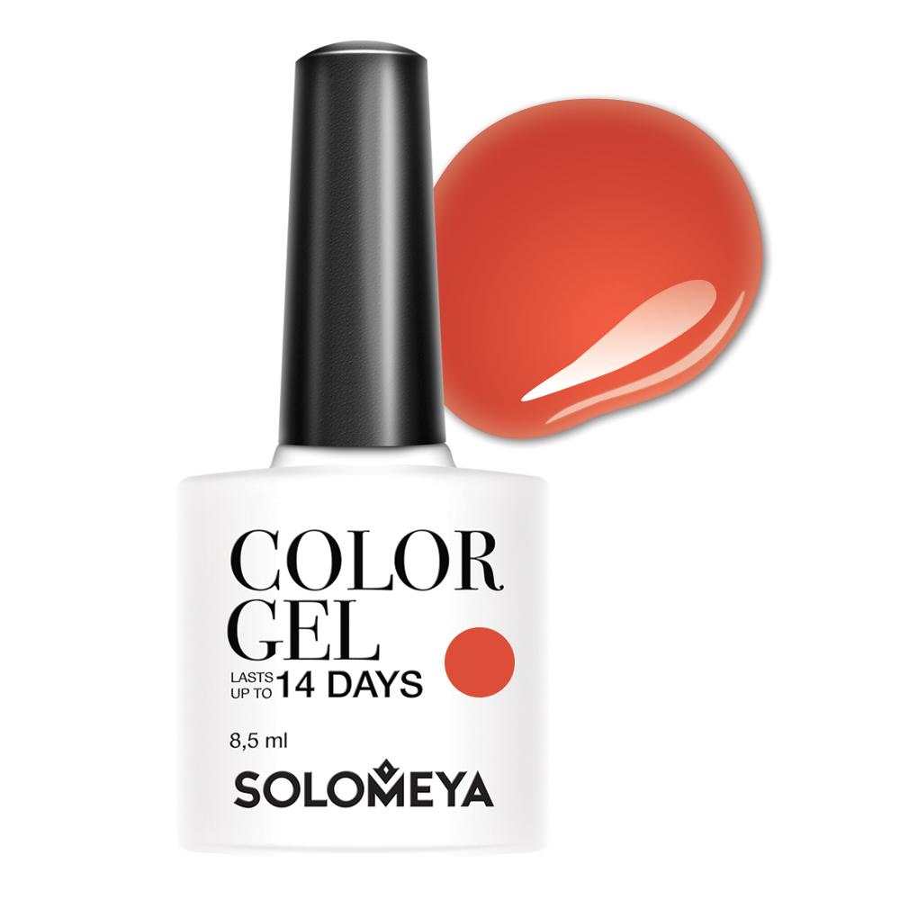 SOLOMEYA Гель-лак для ногтей SCGB169 Мина / Color Gel Mina 8,5 мл фото