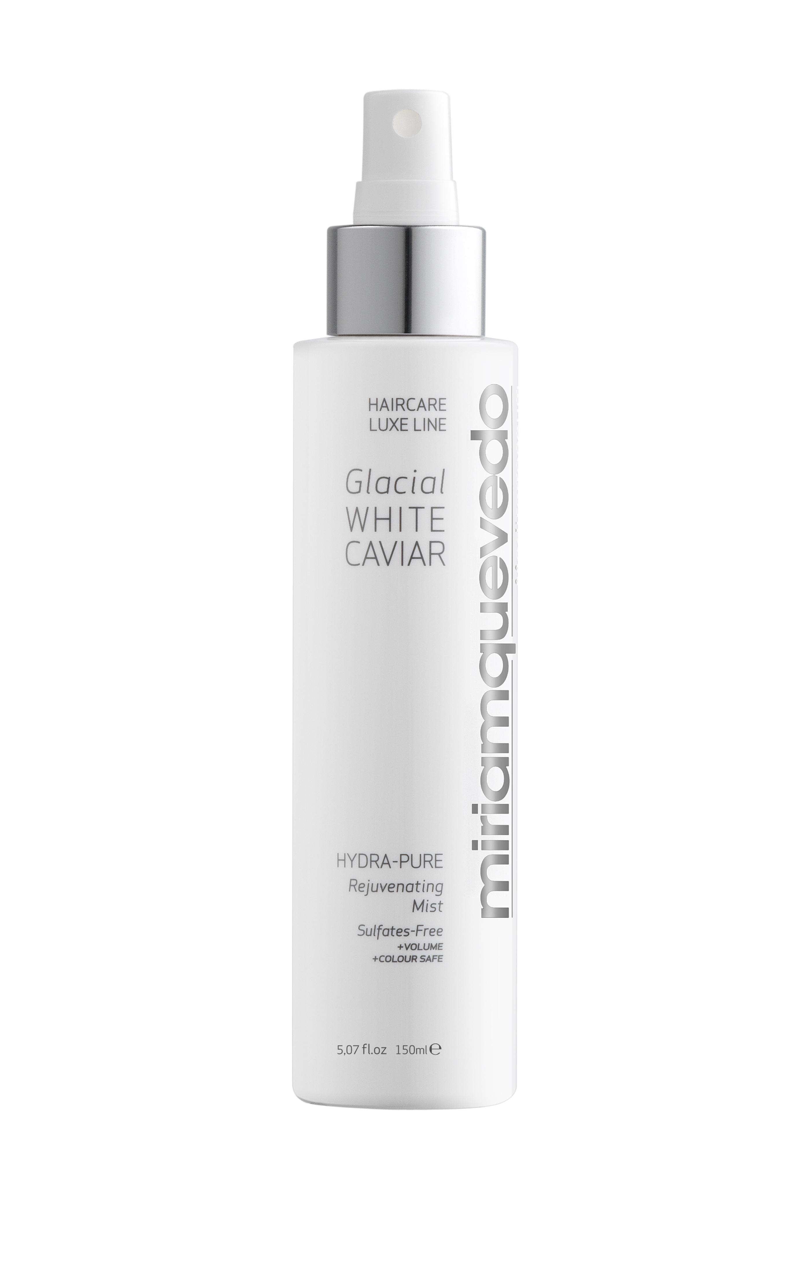 MIRIAM QUEVEDO Спрей увлажняющий восстанавливающий с экстрактом прозрачно-белой икры / GLACIAL WHITE CAVIAR 150мл