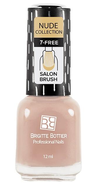 BRIGITTE BOTTIER 182 лак для ногтей, персиково-бежевый / Nude Collection 12 мл фото