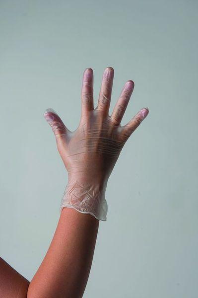 ЧИСТОВЬЕ Перчатки виниловые неопудренные М 100 шт/упПерчатки<br>Одноразовые нестерильные перчатки из винила надежно защищают руки мастеров маникюра-педикюра и парикмахеров от бактерий, вирусов, воздействия косметических и химических средств, кислот, жира, спирта.<br>