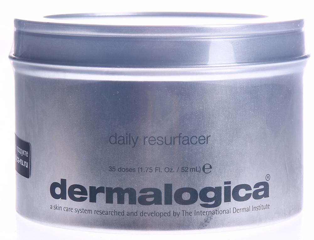 DERMALOGICA Шлифовка кожи ежедневная / Daily Resurfacer 35 капсулПилинги<br>Для всех состояний кожи, кроме клиентов, применяющих медицинские эксфолианты. Обновите свою кожу, придайте ей гладкость и сияние с помощью этого средства для ежедневного применения, которое нужно наносить перед рекомендованным Вам увлажнителем. Гидроксикислоты и ферменты разглаживают кожу, не вызывая покраснения, и способствуют уменьшению признаков преждевременного старения. Осветляющий комплекс выравнивает цвет кожи. Экстракты ройбоша и зеленого чая успокаивают кожу и способствуют увлажнению. Активные ингредиенты: салициловая кислота,фермент бациллы, гибискус, экстракт яблока и сахороного тросника, ройбош, зеленый чай. Способ применения: применяйте ежедневно, в дополнение к Ежедневному Микрофолианту. Прикоснитесь напальчником к лицу и легкими круговыми движениями распределите жидкость по поверхности кожи. Можно наносить на все лицо, избегайте попадания в глаза. Через 2-3 минуты нанесите соответствующий усилитель или увлажнитель Dermalogica. Ежедневную щлифовку кожи не нужно смывать.<br><br>Вид средства для лица: Отбеливающий<br>Время применения: Дневной