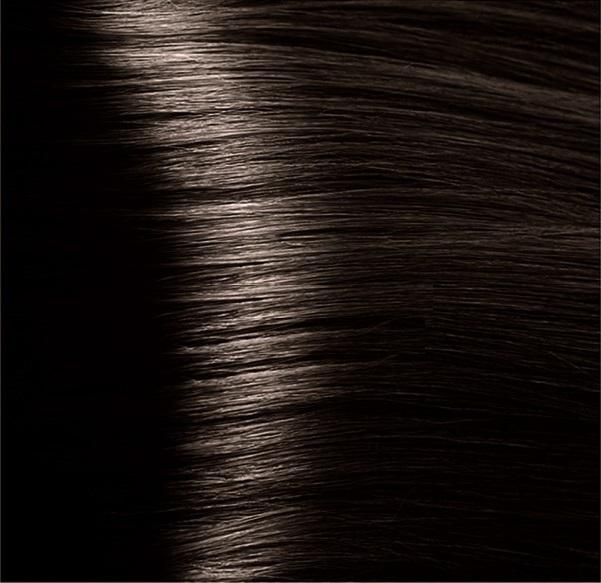 Hair company 4 caffe крем-краска, каштановый