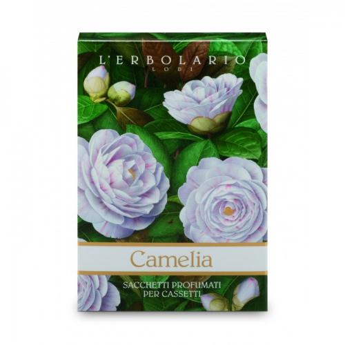LERBOLARIO Саше ароматизированное для комода Камелия