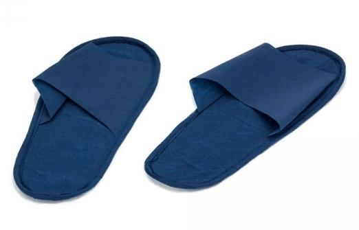 IGRObeauty Тапочки ЭВА, нескользящие на жесткой подошве, открытый мыс, размер 39, цвет синий 1 пара