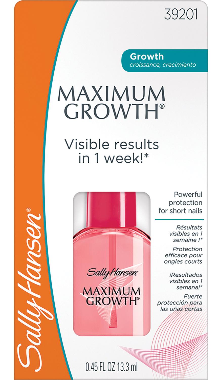 SALLY HANSEN Средство для защиты и роста ногтей / maximum growth - Лечебные средства