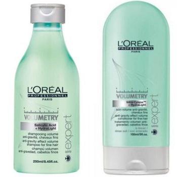 LOREAL PROFESSIONNEL Набор для объема тонких волос (шампунь 250мл + смываемый уход 150мл) / ВОЛЮМЕТРИ Весна недорого