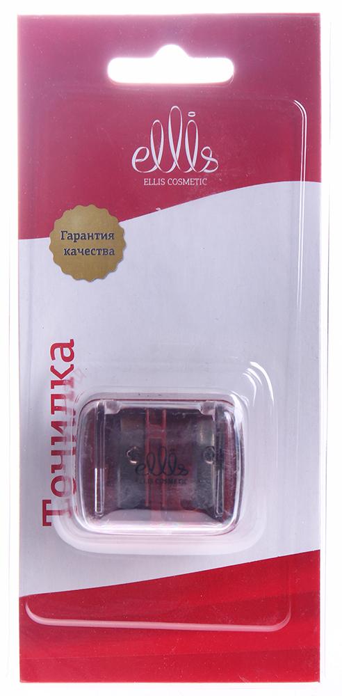 ELLIS COSMETIC Точилка двойная краснаяОсобые аксессуары<br>Точилка предназначена для заточки косметических карандашей всех видов. Лезвия точилок изготовлены из прочной нержавеющей стали, что обеспечивает им длительный срок службы. Точилки с двумя отверстиями удобно использовать для карандашей различных диаметров.<br>