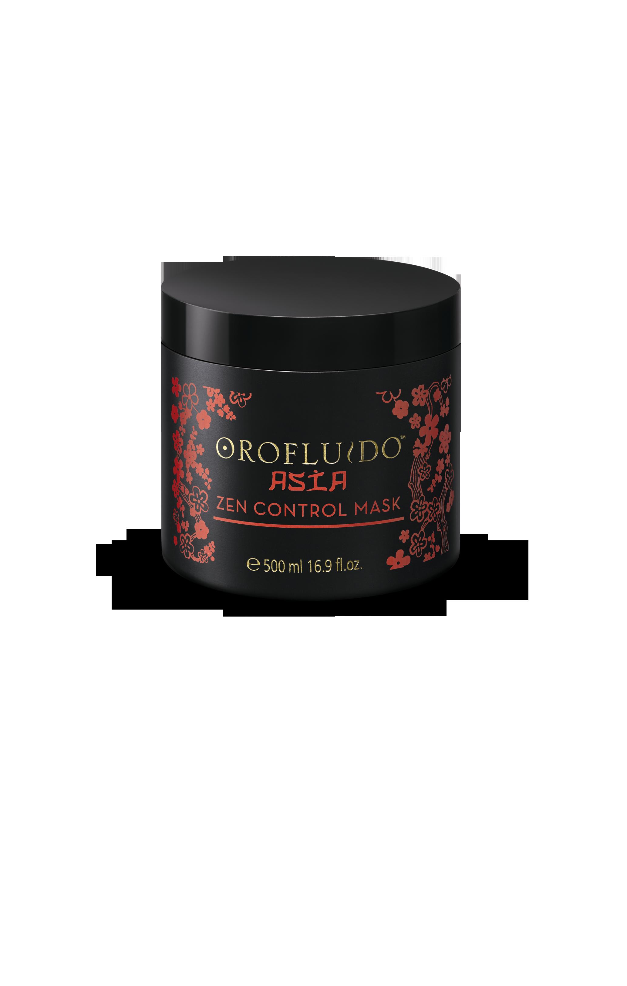 OROFLUIDO Маска для волос / Orofluido mask ASIA 500млМаски<br>Восхитительная крем-маска для интенсивного ухода за волосами •Протеины Пшеницы восстанавливают волос и протеины кератина поддерживают эластичность волосяного волокна •Дисциплинирует вьющиеся и пушистые волосы. •Содержит пантенол, который проникает в стержень волоса. Питает и улучшает качество волос, предотвращает ломкость, сокращает количество сеченых волос. •Обогащен Гидролизованным кукурузным крахмалом, благодаря которому уменьшается спутывание волос. Легко смывается. Для всех типов непослушных волос.<br><br>Типы волос: Для всех типов