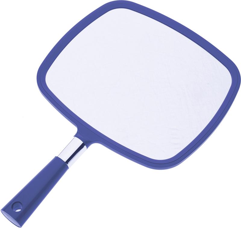 DEWAL PROFESSIONAL Зеркало заднего вида с ручкой, пластик, синее 33,5х23 см