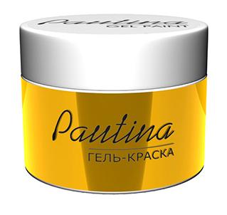 RUNAIL Гель-краска для дизайна ногтей, золото / Pautina 5 г