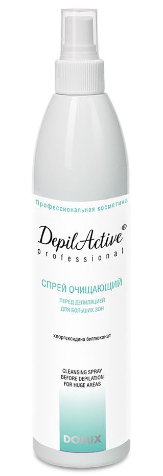 Купить DOMIX GREEN PROFESSIONAL Спрей очищающий перед депиляцией с хлоргексидином, для больших зон / DAP 260 мл