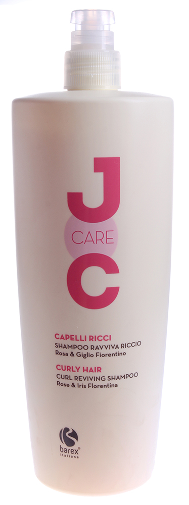 BAREX Шампунь Идеальные кудри с Флорентийской лилией / JOC CARE 1000млШампуни<br>Мягкое очищающее средство, разработанное специально для ухода за вьющимися волосами. Не утяжеляет волосы. В результате использования шампуня волосы становятся мягкими и послушными. Розовое масло: смягчает и кондиционирует вьющиеся волосы, делает их здоровыми и упругими. Флорентийская лилия (ирис): обладая питательными и увлажняющими свойствами, а также способностью повышать упругость волос, ирис восстанавливает волосы, они становятся сильными и блестящими. Пантенол: придает нужный уровень увлажненности, делая волосы шелковистыми на ощупь. Активные ингредиенты: розовое масло, флорентийская лилия (ирис), пантенол, молочная кислота, кондиционирующие полимеры. Способ применения: нанести шампунь на влажные волосы и кожу головы легкими массажными движениями до образования пены, оставить на несколько минут, затем смыть водой. Для достижения наилучших результатов, использовать вместе с МАСКОЙ ИДЕАЛЬНЫЕ КУДРИ JOC CARE.<br><br>Вид средства для волос: Очищающий