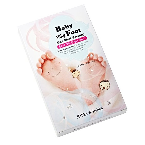 HOLIKA HOLIKA Пилинг жидкий для ног Бэйби Силки / Baby Silky Foot One Shot Peeling 2*20мл