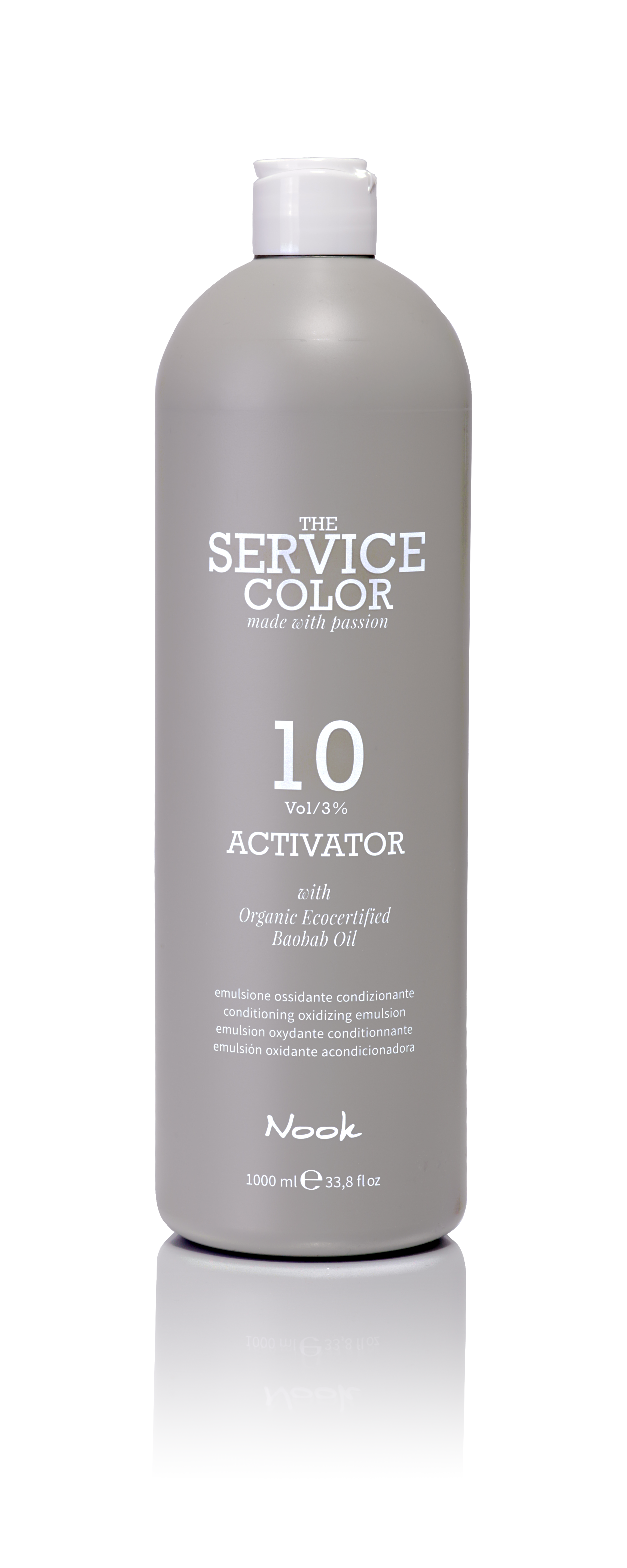 NOOK Активатор 3% (10vol) / ACTIVATOR THE SERVICE COLOR 1000мл the complete voodoo vol 3