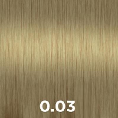 Купить CUTRIN 0.03 крем-краска для волос, прикосновение солнца / AURORA 60 мл