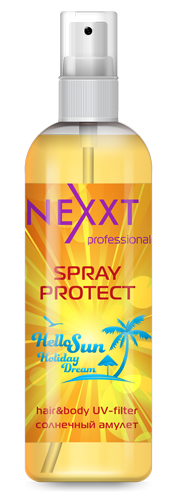 NEXXT professional Спрей увлажнение и защита от солнца, с УФ фильтром / SPRAY PROTECT 250мл