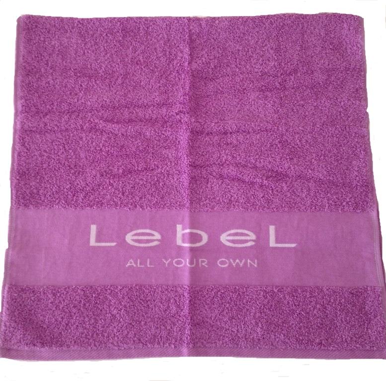 LEBEL Полотенце фиолетовое 50*100 -  Полотенца